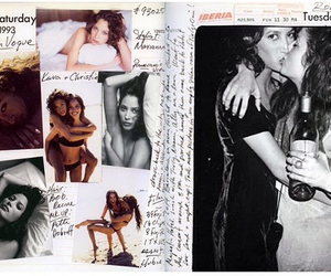 90s, isitvogue, and Christy Turlington image