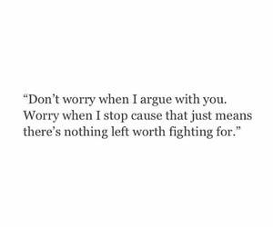 quotes, worry, and fighthing image
