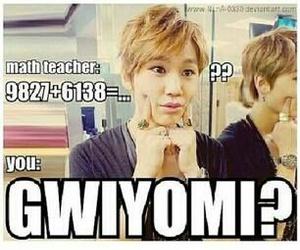 kpop, gwiyomi, and funny image