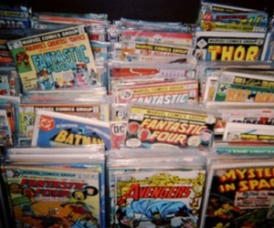 comic, batman, and thor image