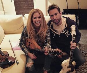 Avril Lavigne and chad kroeger image