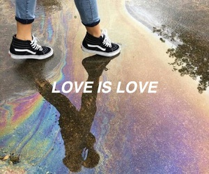 aesthetic, feminism, and gay pride image