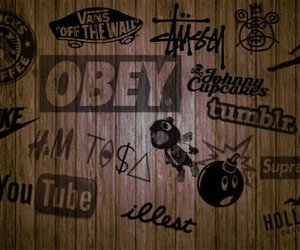 obey, tumblr, and vans image
