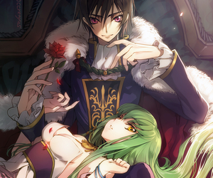 code geass, anime, and lelouch image