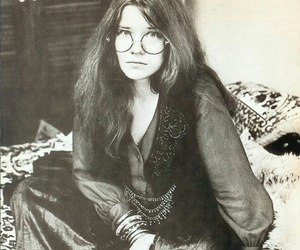 janis joplin, music, and hippie image