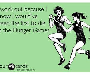 hunger games, funny, and the hunger games image
