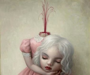 Mark Ryden, art, and blood image