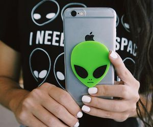 alien, cool, and hipster image