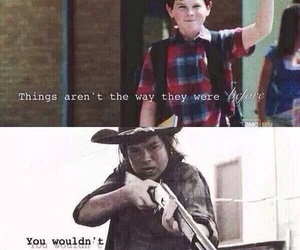 the walking dead, carl grimes, and carl image