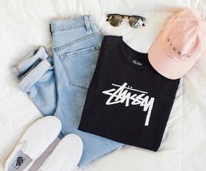 baseball, clothes, and glasses image