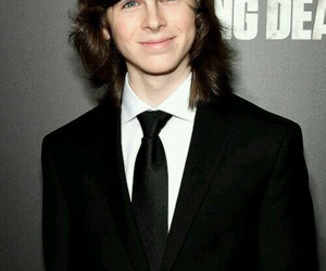 chandler riggs, the walking dead, and carl grimes image