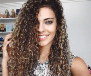 curly hair, hair, and curlyhair image