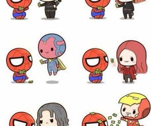 Avengers, cute, and funny image