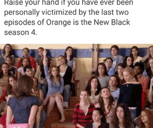 mean girls and orange is the new black image