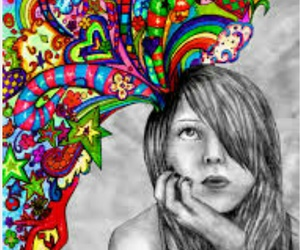 imagination, art, and colors image
