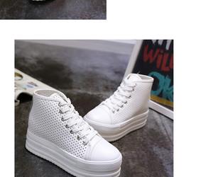 heel, high, and platform image