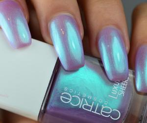 beauty, holographic, and mermaid image