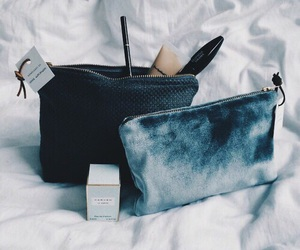 bag, makeup, and beauty image
