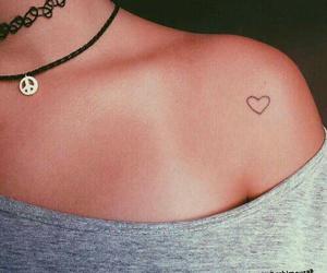 heart, tattoo, and tatto image
