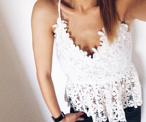 summer, top, and white image
