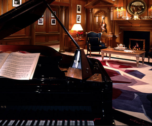 house and piano image