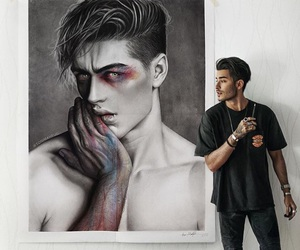 art, boy, and toni mahfud image