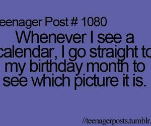 teenager post, funny, and birthday image
