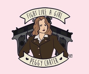 peggy carter, Marvel, and agent carter image