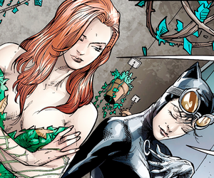 poison ivy, selina kyle, and catwoman image