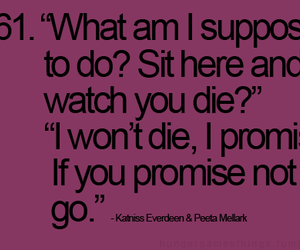 promise, quotes, and peeta and katniss image