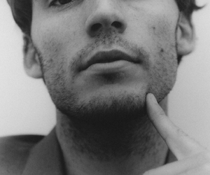 sam claflin, black and white, and Hot image
