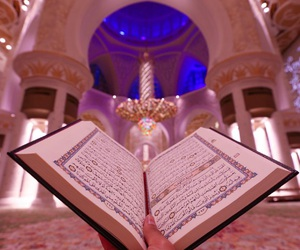 quran, Ramadan, and mosque image