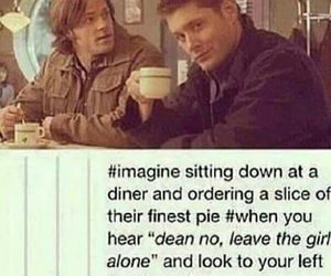 supernatural, dean winchester, and imagine image