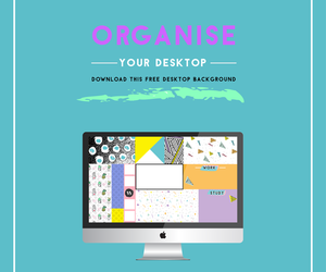design, girly, and organise image