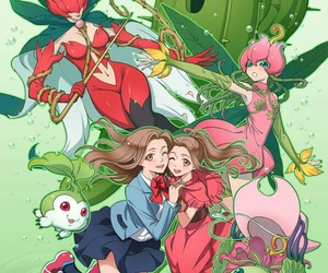 mimi, digimon, and anime image
