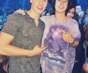 nash grier, shawn mendes, and boy image