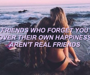 quotes, friends, and fake friend image