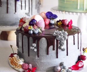 cake art, Cake Decorating, and fairy cakes image