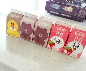 line, aesthetic, and milk image