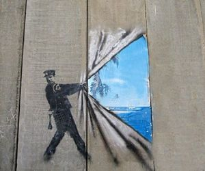 art, funny, and street art image