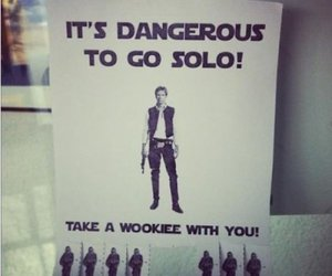 star wars, wookiee, and funny image