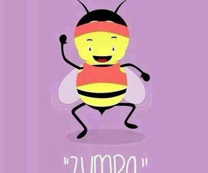 bee, zumba, and dance image