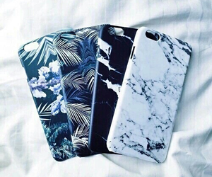 art, phone case, and blue image