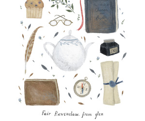 ravenclaw, harry potter, and hogwarts image