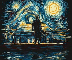 sherlock, art, and van gogh image