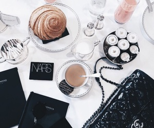 coffee, food, and chanel image