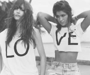 love, girl, and friends image