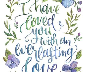 christian, flowers, and verses image