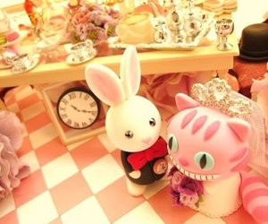 alice in wonderland, wedding, and cute image