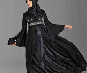 black, photography, and hijab style image